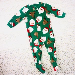 NWT!!!! Carter's Holiday Santa Pajama Set.